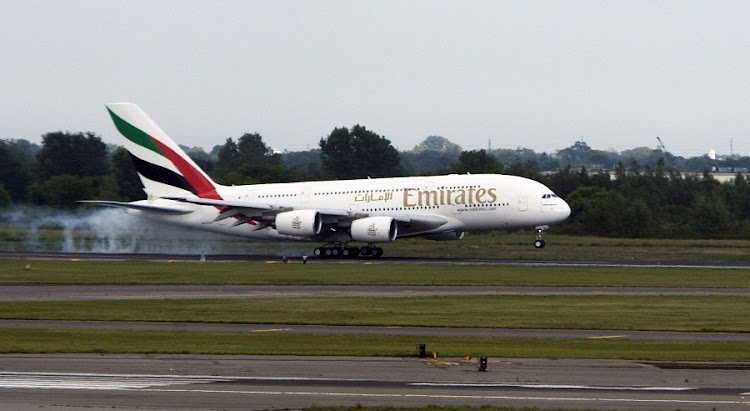 Emirates Airbus A380. Picture: BLOOMBERG