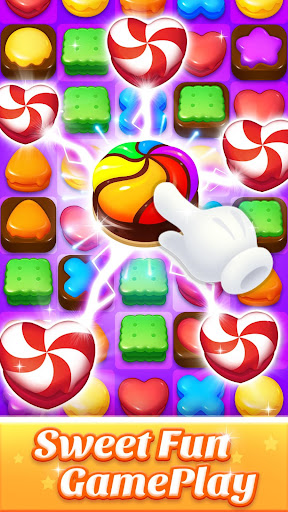 Cookie World -- Clash of Cookie & Colorful Puzzle Screenshot