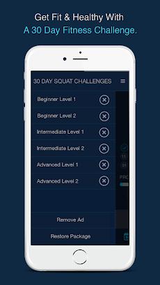 30 Day Squats Challenge - Get fit nowのおすすめ画像1