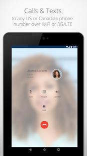 Talkatone: Free Texts, Calls & Phone Number Screenshot