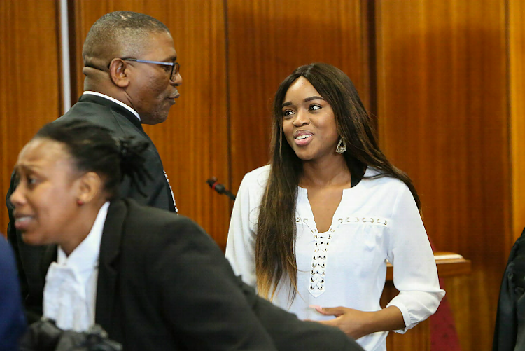 Cheryl Zondi, 22, stoically spent three days in the witness stand this week with many calling her incredibly brave