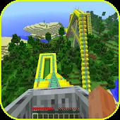 Roller Coaster: Minecraft Idea