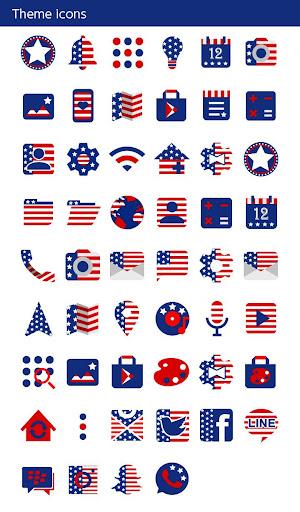 USA Flag Heart Wallpaper 1.0.0 Windows u7528 4