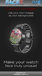 FACE-ie HD Watch Face - náhled