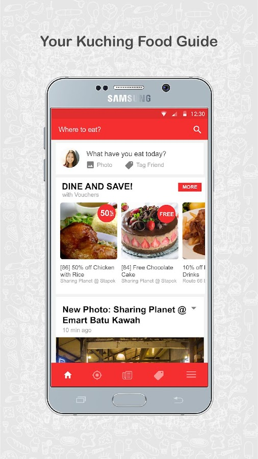 Teaspoon - Explore Restaurants- screenshot