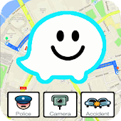 Free Waze GPS Map Guide