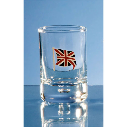 Bubble Base Shot Glass