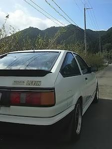 カローラレビン AE86 1986年式  GTV のカスタム事例画像 げれげれさんの2018年09月16日08:48の投稿