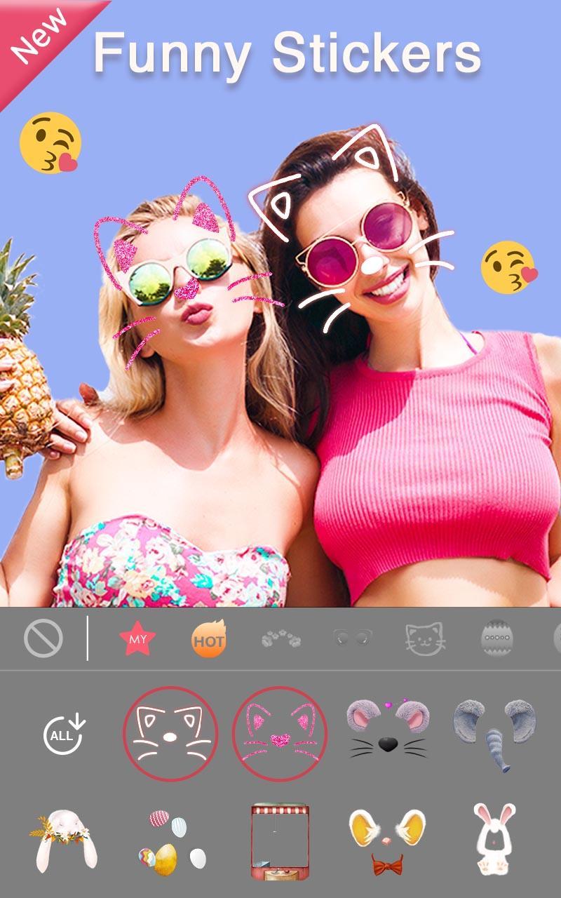 Sweet Selfie Pro - No Ads, Unique Filter & Sticker Screenshot 3
