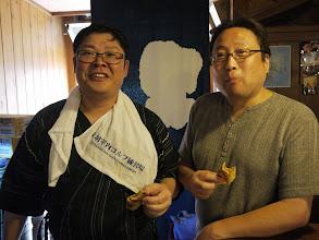 Photo: 音羽ゴルフ練習場社長と森田さん