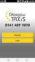 Screenshot of Glasgow Taxis