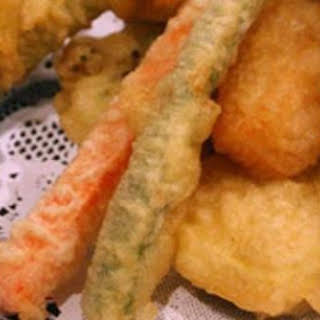 Tempura Batter and Dipping Sauce.
