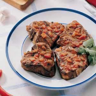 Southwestern Grilled Lamb