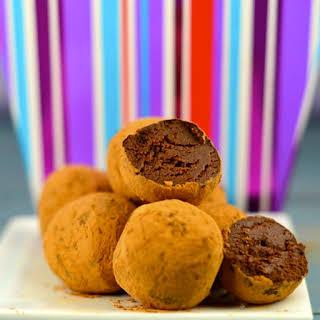 Guilt-Free Chocolate Truffles.