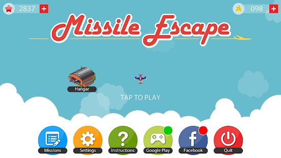 Missile Escape Screenshot