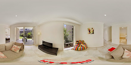 Photo: Luxury Ocean Townhouse - Downstairs Rumpus Room/Second Bedroom/Patio/Garden/Bathroom www.escapeatnobbys.com.au