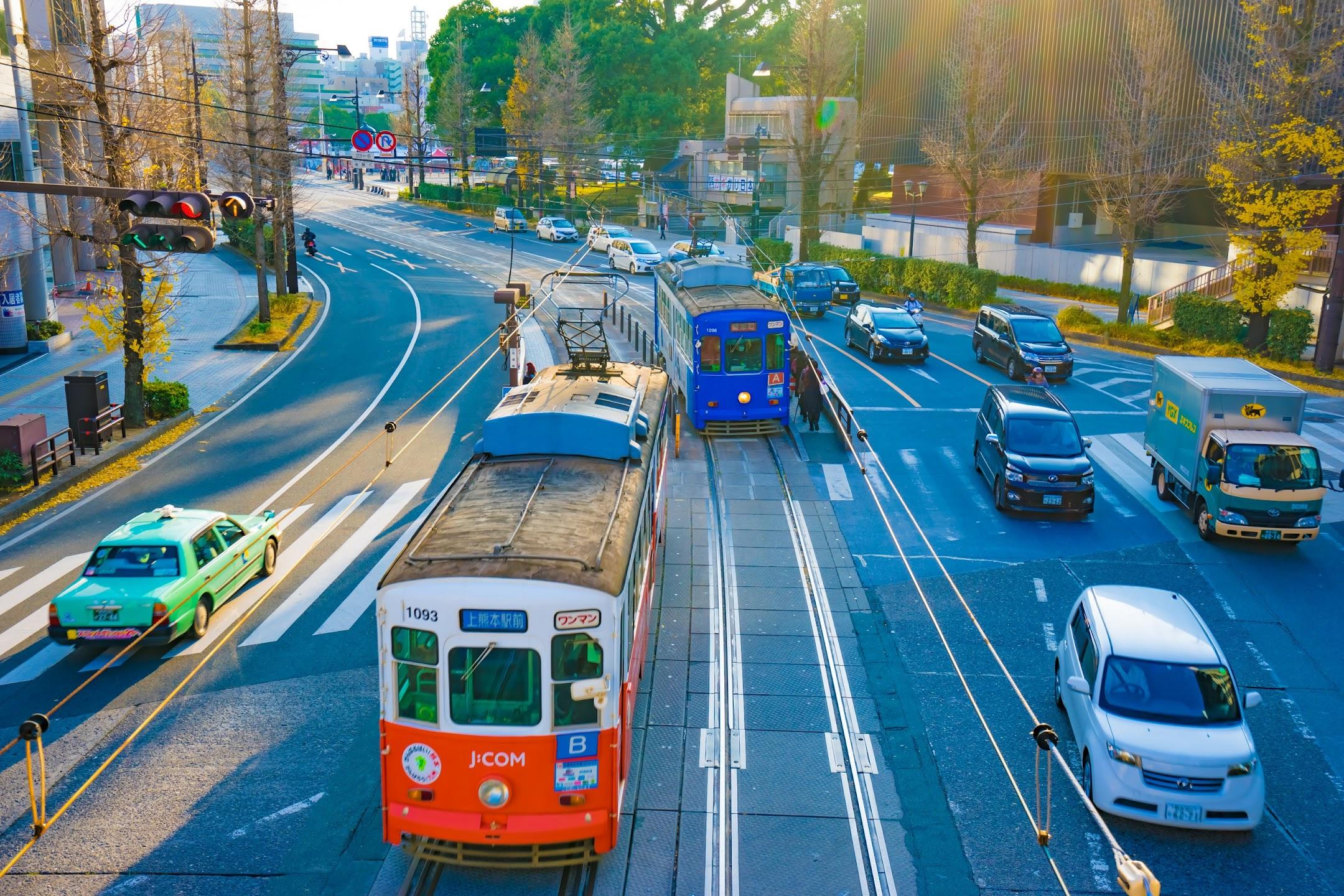 熊本 市電 路面電車2