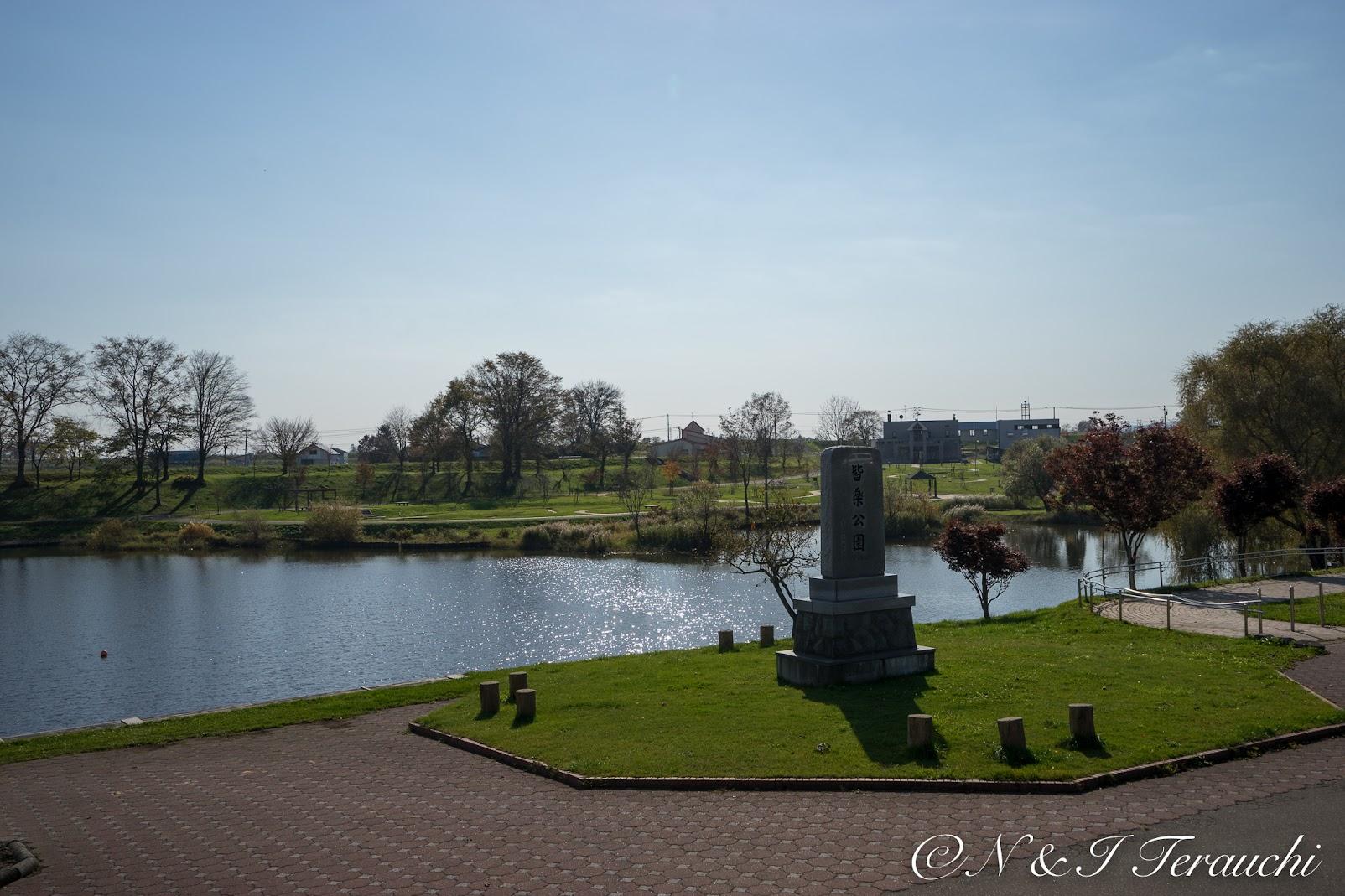 皆楽公園の池