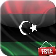 Flag of Libya Live Wallpaper