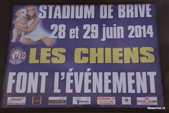 Photo: Affiché dans toute la ville de Brive !