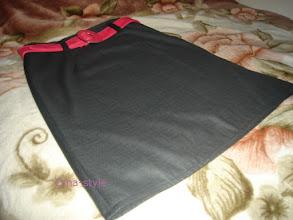 Photo: женская юбка А-силуэта костюмка