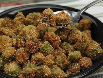 Rose's Yankee-fried Okra Recipe
