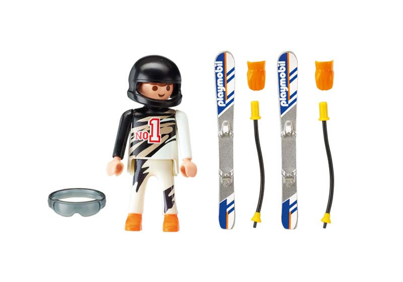 Contenido real de Playmobil® 9288 Esquiador