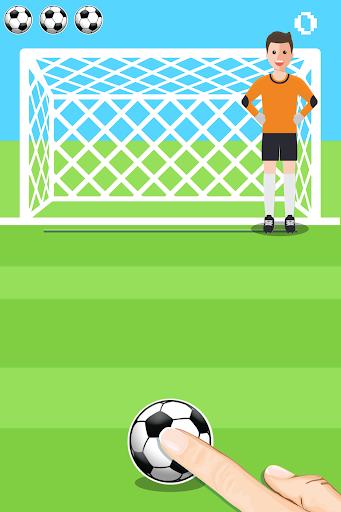 Penalty Shooter ⚽Goalkeeper Shootout Game 1.0.0 screenshots 1