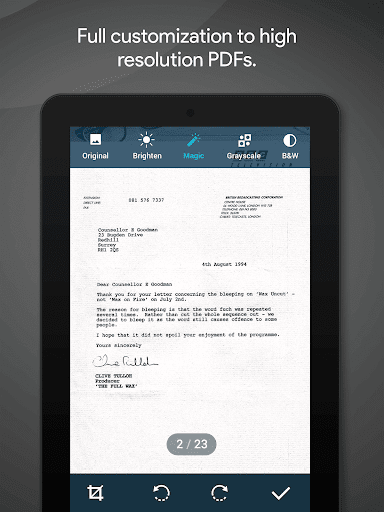 MobiSystems Quick PDF Scanner + OCR FREE  screenshots 18