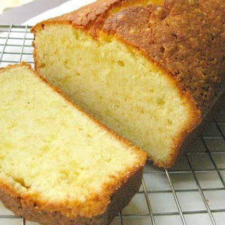 Pound Cake With Cream Cheese