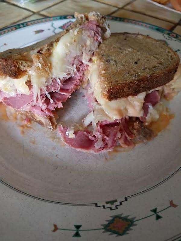 Junior's Reuben Sandwich Recipe