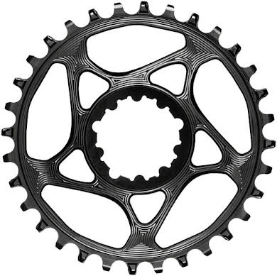 Absolute Black Round Narrow-Wide Direct Mount Chainring - SRAM 3-Bolt Direct Mount, 3mm Offset alternate image 3