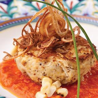 Crispy Crab Risotto