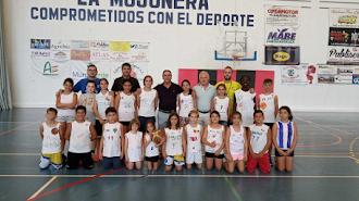 Aprender y divertirse con el baloncesto en La Mojonera.
