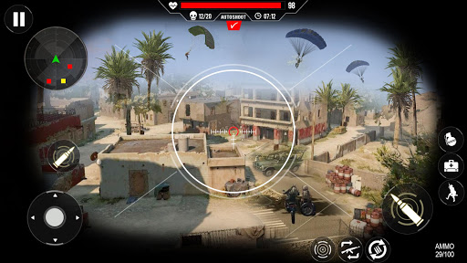 Commando Shooting Games 2020 - Cover Fire Action filehippodl screenshot 3