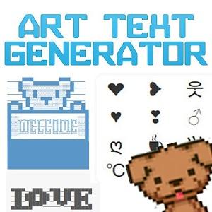 fancy text art generator