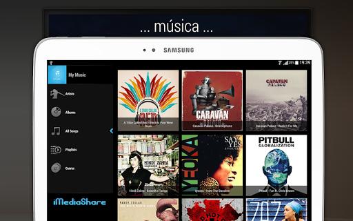 iMediaShare – Fotos e Música screenshot 11