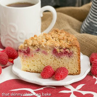 Raspberry Coffee Cake #BrunchWeek
