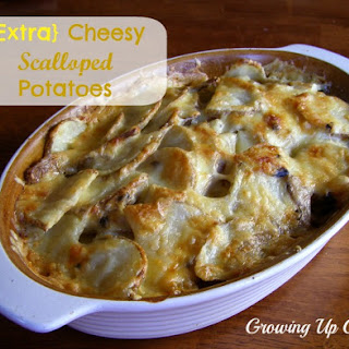 Scalloped Potatoes for the Oven or the Slow Cooker.