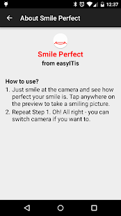 Smile Perfect Camera- screenshot thumbnail