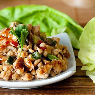 Turkey and Lettuce Wraps.