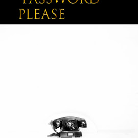 The Old Telephone by Staffan Håkansson - Typography Captioned Photos ( white, old, telephone, text, table )