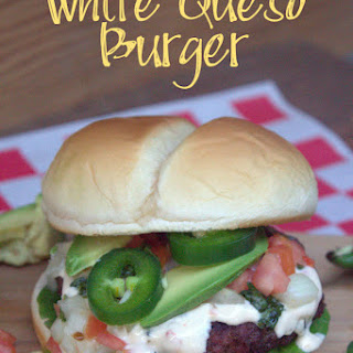 White Queso Burger