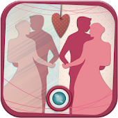 Cute Love Mirror Photo Editor