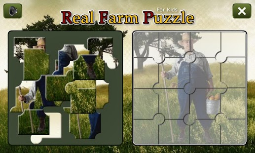 Real Farm Puzzle- screenshot thumbnail