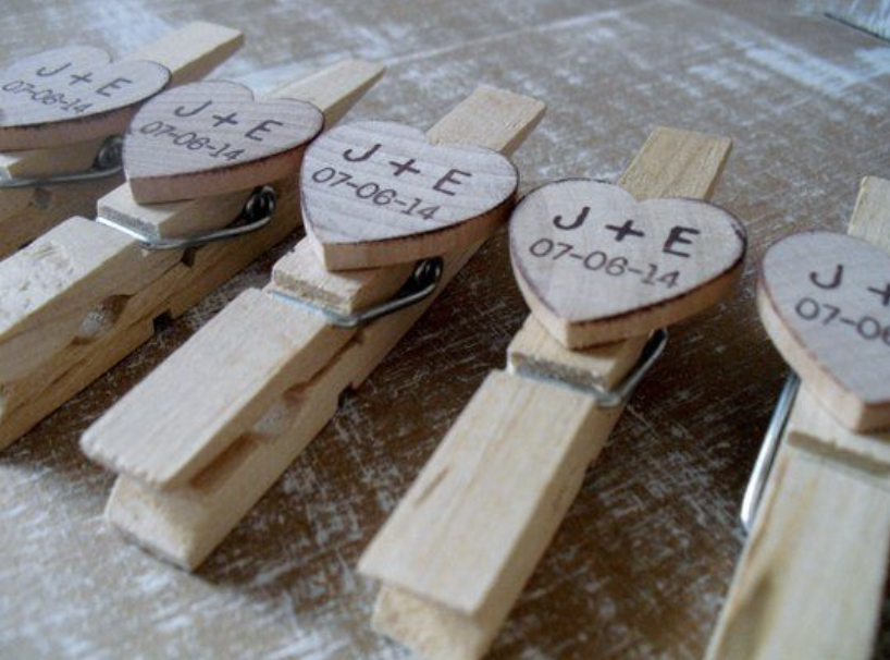 DIY personal wooden clothespin
