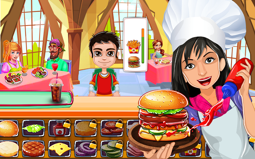 Euro Burger Super King : Cooking Game ss2