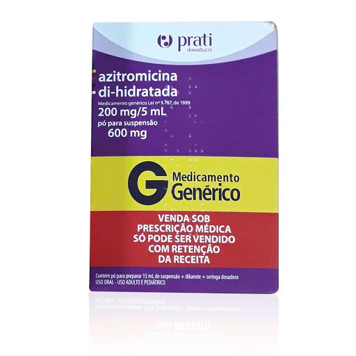 azitromicina 200mg/5ml 15ml suspensión prati