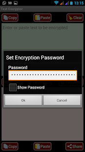 4 AES Message Encryptor for SMS App screenshot
