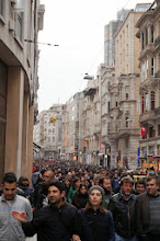 Photo: Istiklal Avenue in Istanbul is always crowded